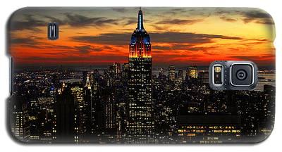 Nyc Sunset Galaxy S5 Case