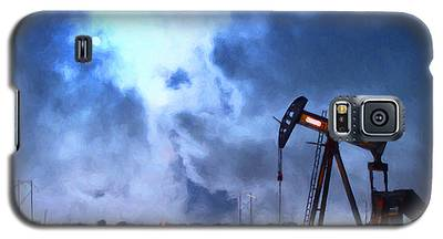 Oil Pump Field Galaxy S5 Case