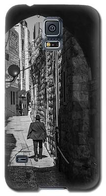 Old City Jerusalem Streets Galaxy S5 Case