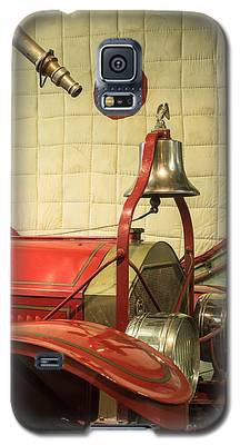 Old Fire Truck Engine Safety Net Galaxy S5 Case