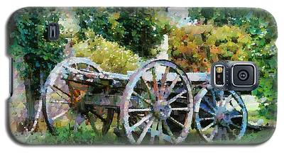 Old Horse Cart Galaxy S5 Case