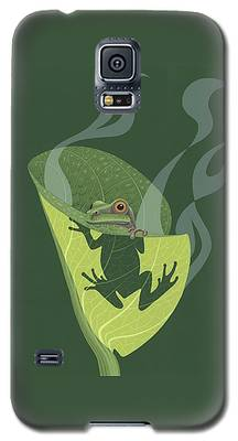 Frogs Galaxy S5 Cases