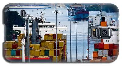 Panama Canal Express Galaxy S5 Case