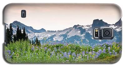 Paradise Meadows And The Tatoosh Range Galaxy S5 Case
