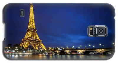 Paris Blues Galaxy S5 Case