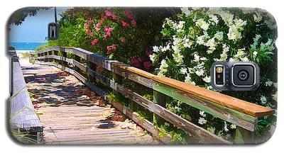 Pathway To Beach Galaxy S5 Case