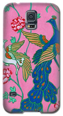 Peacocks Flying Southeast Galaxy S5 Case
