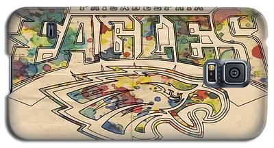 Philadelphia Eagles Poster Art Galaxy S5 Case