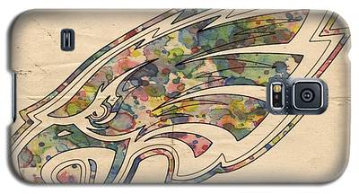 Philadelphia Eagles Poster Vintage Galaxy S5 Case
