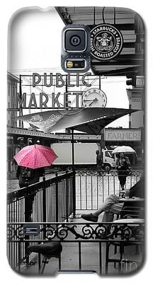 Pink Umbrella Galaxy S5 Case
