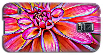 Pop Art Dahlia Galaxy S5 Case