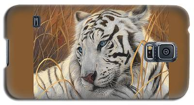 Portrait White Tiger 1 Galaxy S5 Case