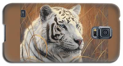Portrait White Tiger 2 Galaxy S5 Case