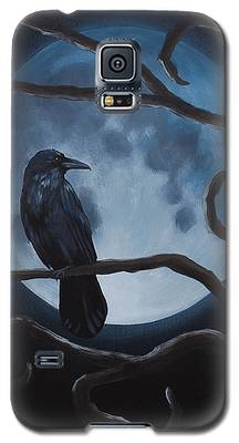 Raven Moon Galaxy S5 Case