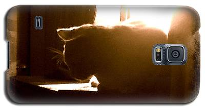 Rescue Cat Galaxy S5 Case
