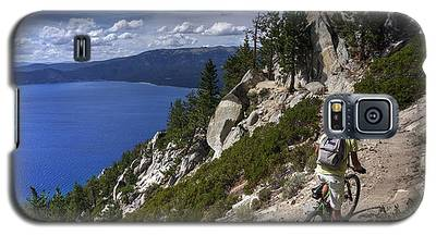 Riding The Flume Trail Galaxy S5 Case