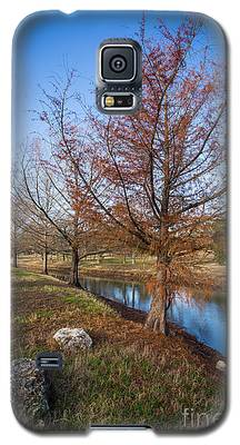River And Winter Trees Galaxy S5 Case
