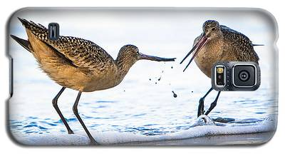 Sanderlings Playing At The Beach Galaxy S5 Case