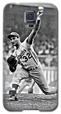 Sandy Koufax Throwing The Ball Galaxy S5 Case