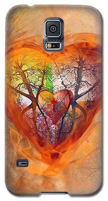 Season Of The Heart Galaxy S5 Case