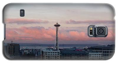 Seattle In Pink Galaxy S5 Case