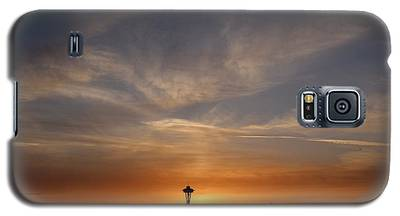 Seattle Space Needle Cityscape Galaxy S5 Case