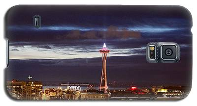 Seattle Space Needle Holidays  Galaxy S5 Case