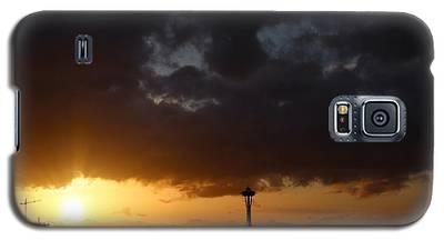 Seattle Space Needle Sunset Galaxy S5 Case