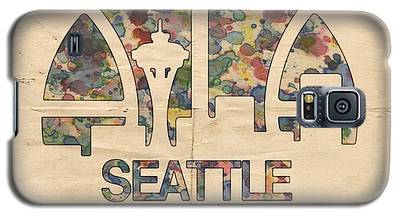 Seattle Supersonics Poster Vintage Galaxy S5 Case