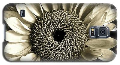 Sepia Sunflower Galaxy S5 Case