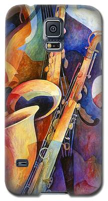 Saxophone Galaxy S5 Cases