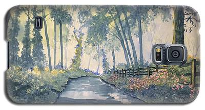 Shadows On The Setterington Road Galaxy S5 Case