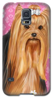 Show Dog Yorkshire Terrier Galaxy S5 Case