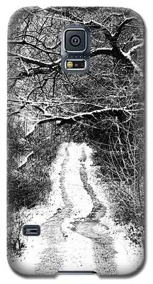 Snowy Path Galaxy S5 Case