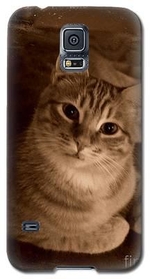 Something Orange Galaxy S5 Case