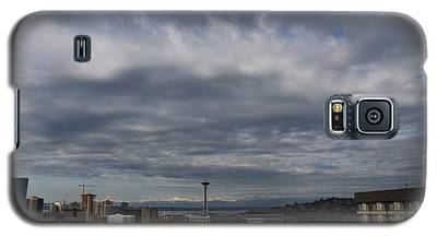 Space Needle In Clouds Galaxy S5 Case