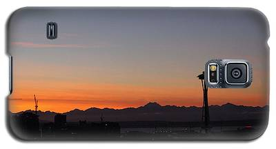 Space Needle Sunset Galaxy S5 Case