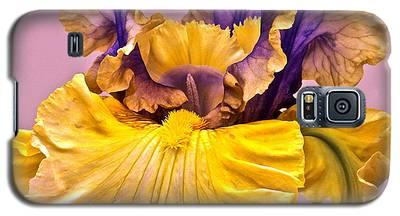 Spectacular Iris Close Up Galaxy S5 Case