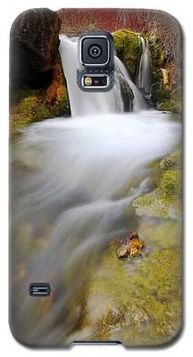 Spring Falls Galaxy S5 Case