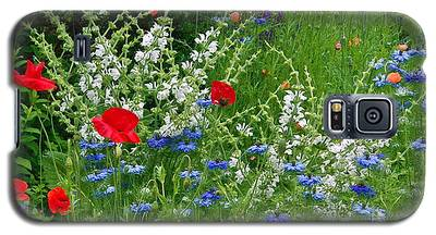 Squarely Spring Floral Garden Galaxy S5 Case