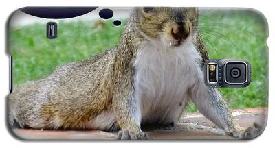 Squirrely Push Ups Galaxy S5 Case