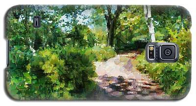 Sunlit Garden Path Galaxy S5 Case