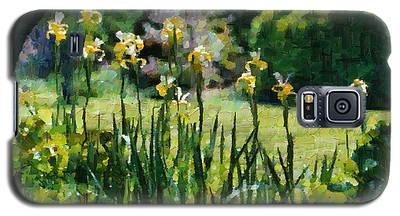 Sunlit Irises Galaxy S5 Case