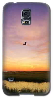 Sunrise In Jersey 5 Galaxy S5 Case