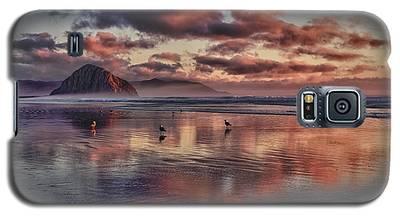 Sunset At Morro Strand Galaxy S5 Case