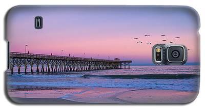 Sunset At Myrtle Beach Galaxy S5 Case