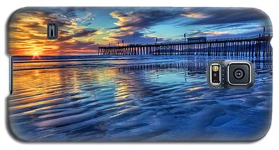 Sunset In Blue Galaxy S5 Case