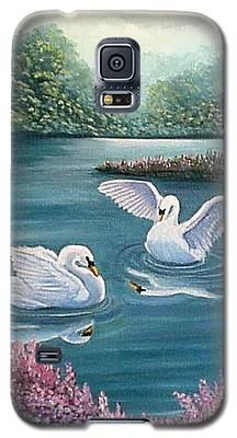 Swan Lake Serenity Galaxy S5 Case