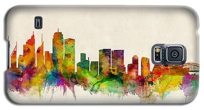 Sydney Skyline Galaxy S5 Cases