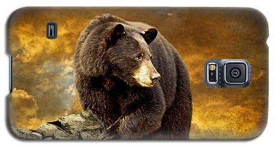 Brown Bear Galaxy S5 Cases